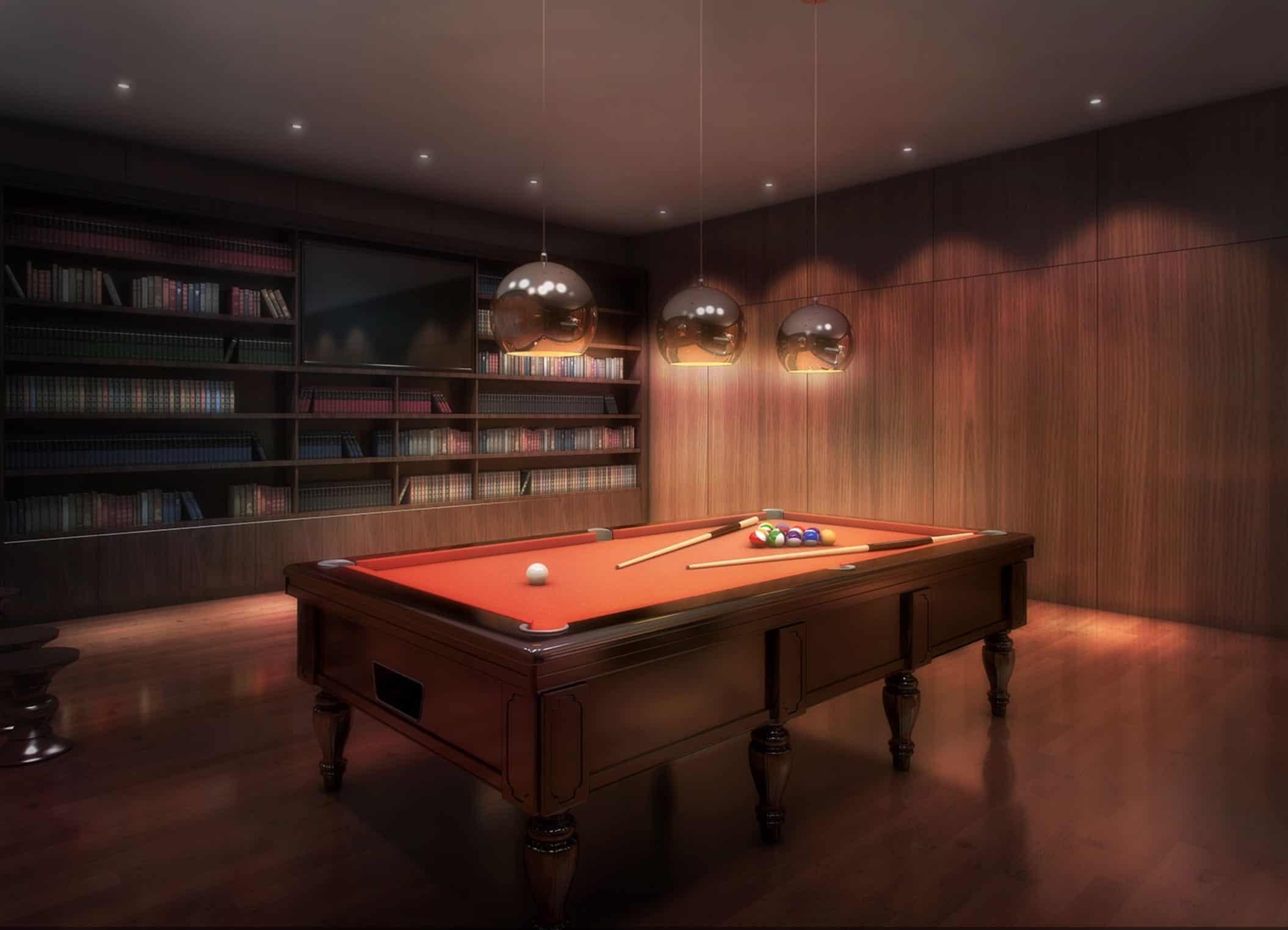King's Landing Condos 2 Billiards Room True Condos