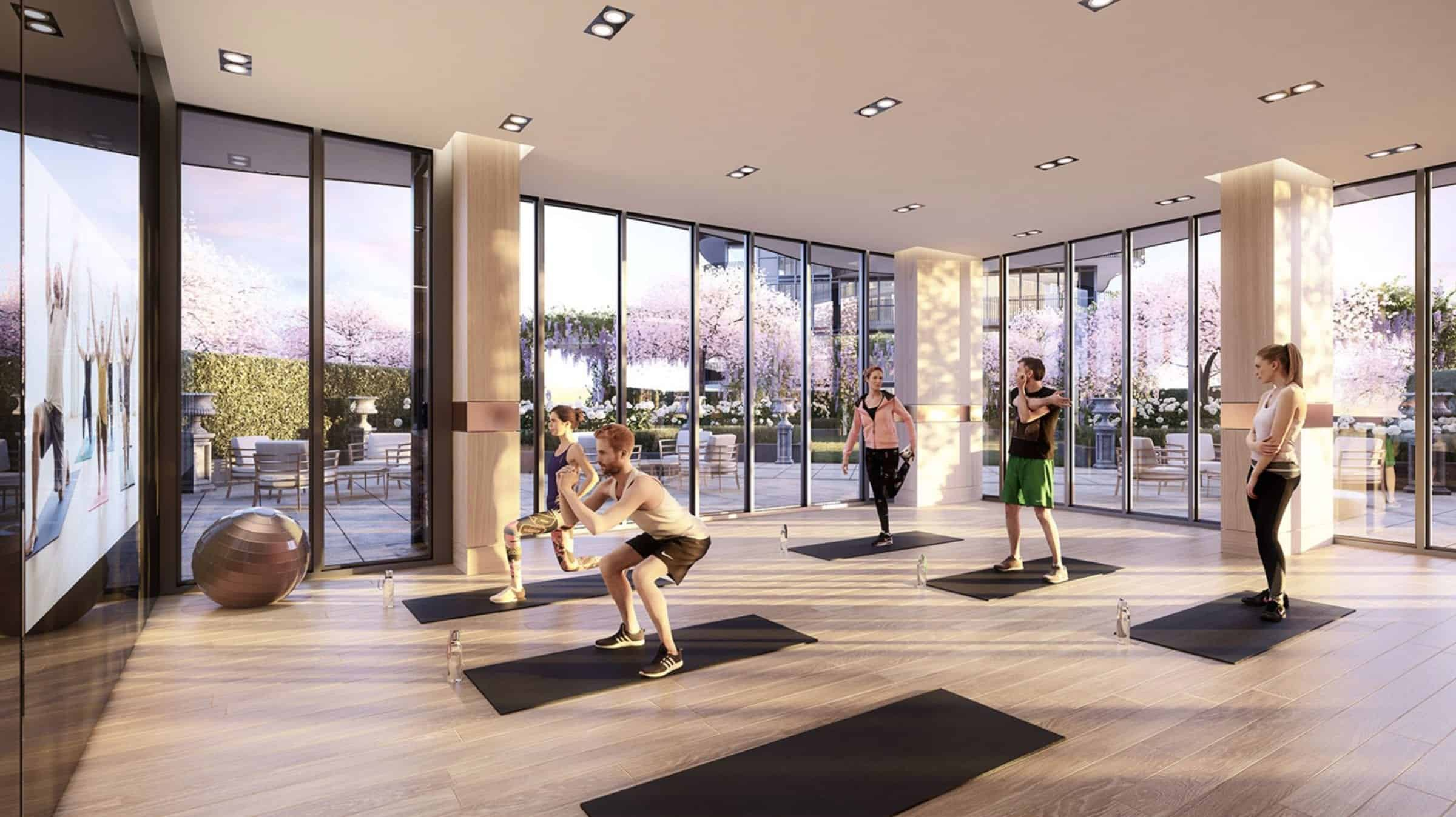 King's Landing Condos 2 Yoga Studio True Condos