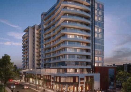 Kiwi Condos Building Renderin True Condos
