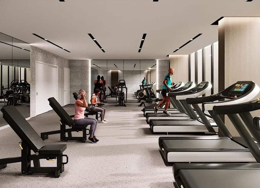 S2 at Stonebrook Condos Fitness Centre True Condos