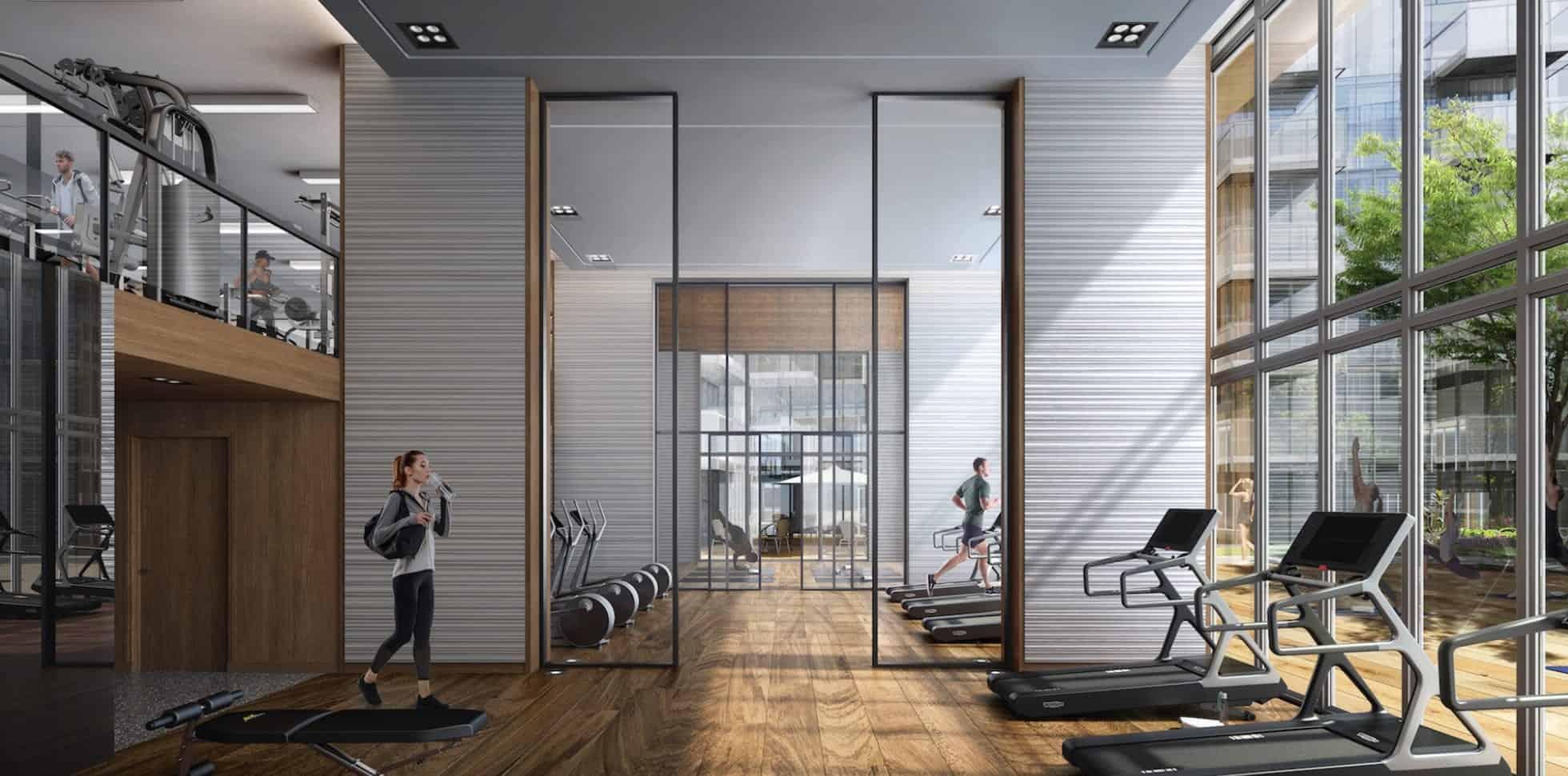 T1 at M2M Condos Gym Fitness True Condos