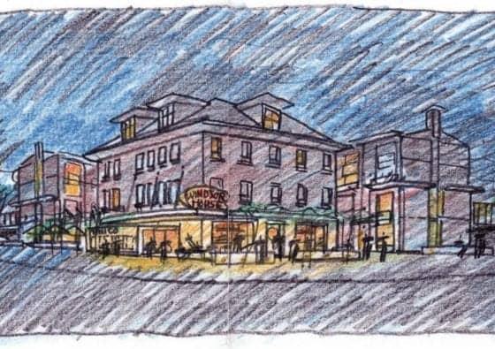 The Mimico Towns Exterior Sketch True Condos