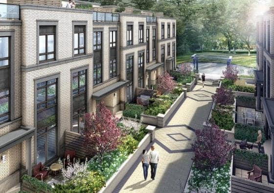 The Weston Townhomes Vaughan True Condos