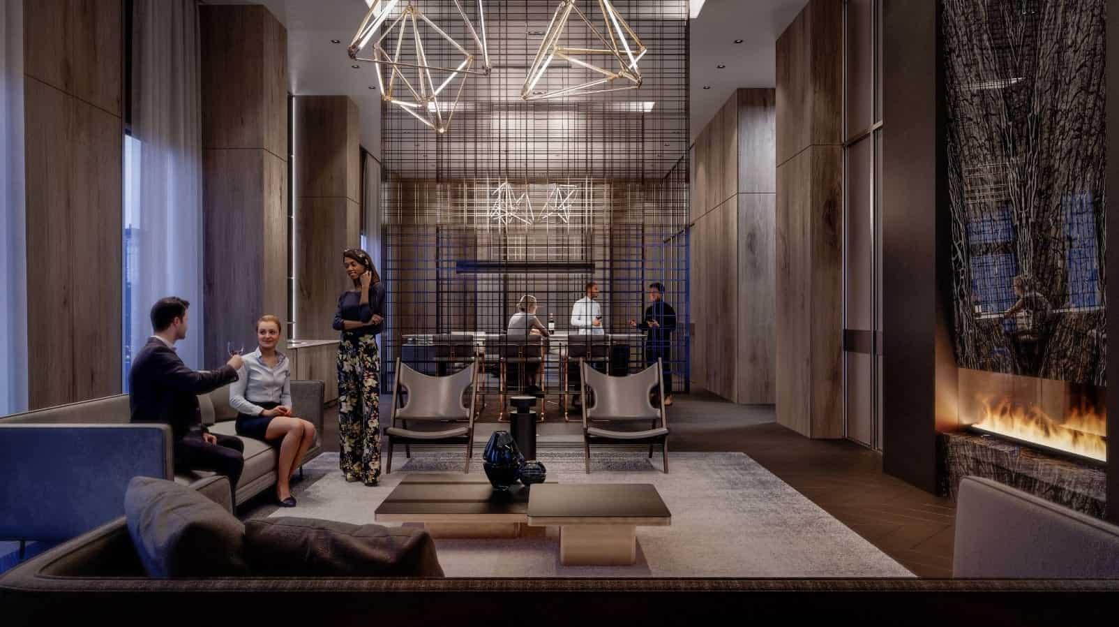 Universal City Condos 2 Lounge True Condos