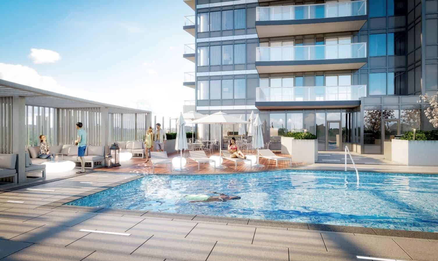 Universal City Condos 2 Outdoor Pool Rooftop True Condos