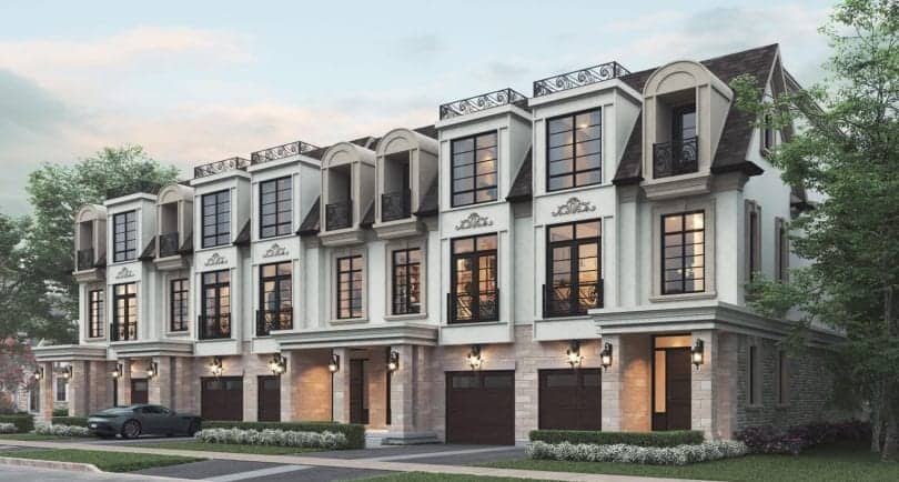 121 East Townhomes Oakville True Condos