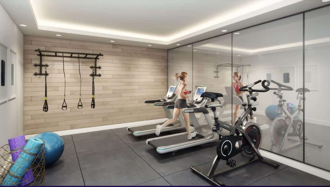 430 Essa Condos Gym Fitness Amenities True Condos