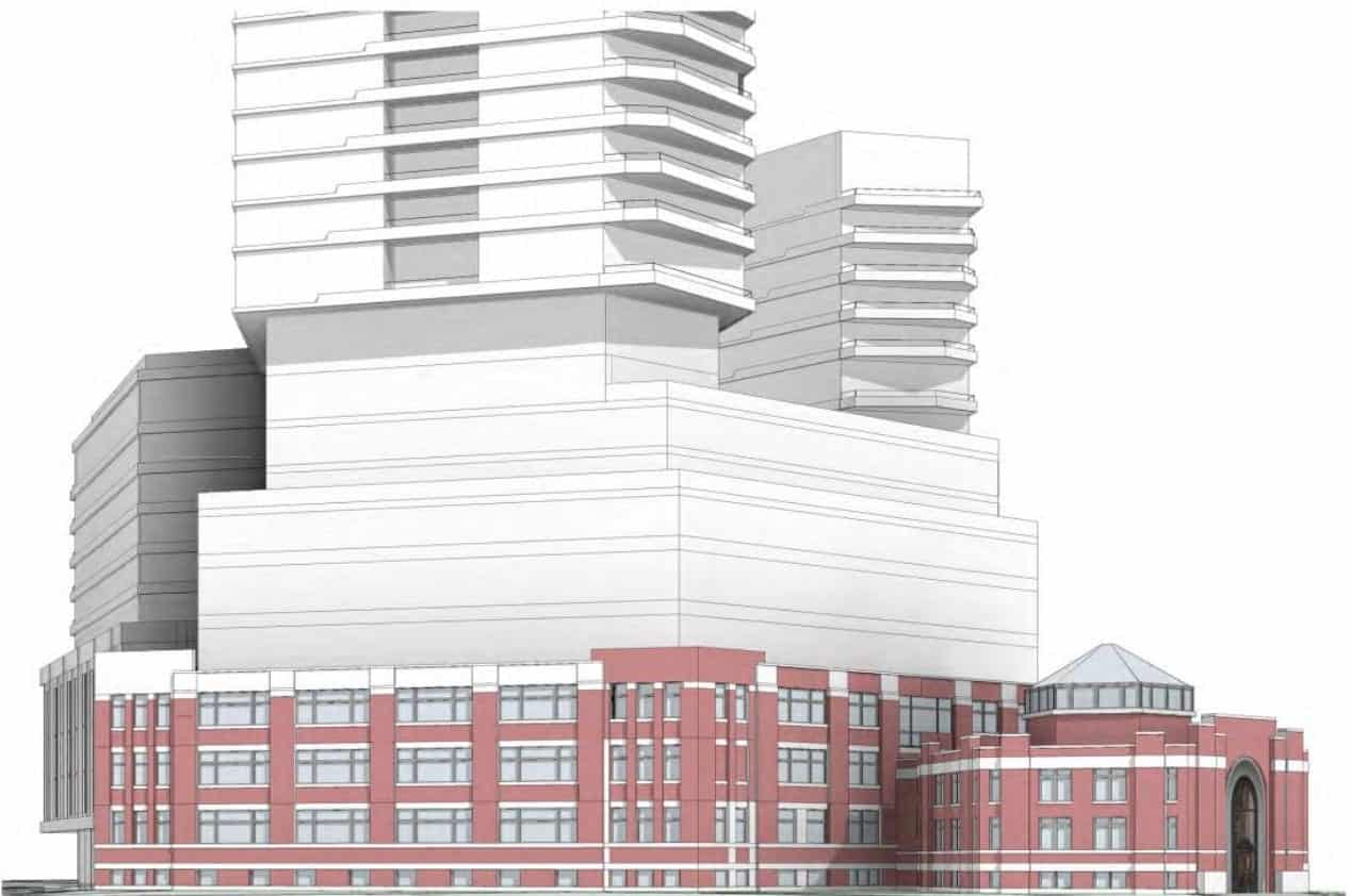 545 Lake Shore Boulevard West Condos Exterior Rendering True Condos