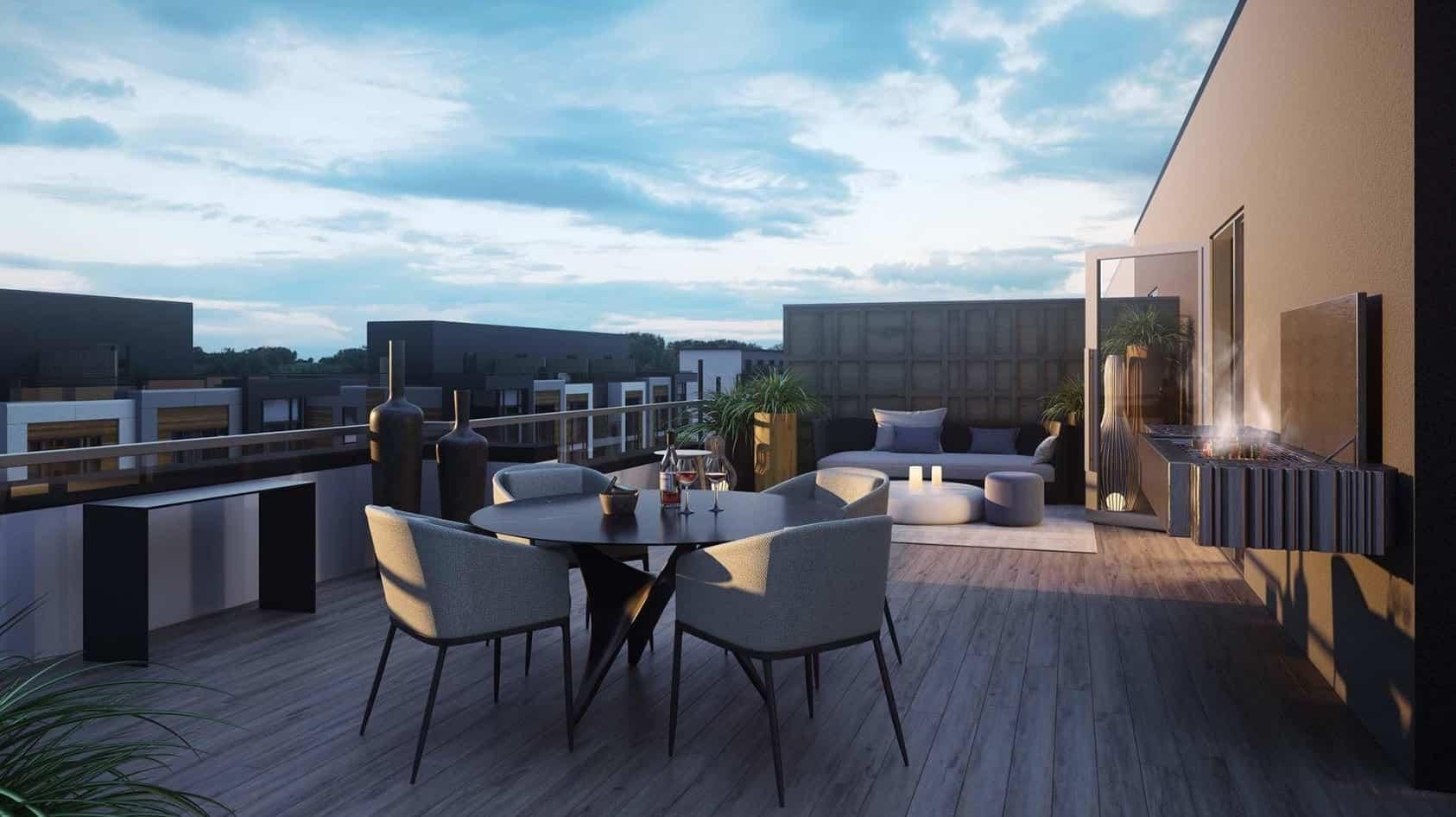 Elgin East Condos Balcony True Condos Terrace