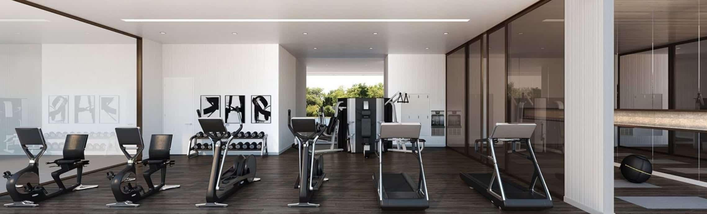 Elgin East Condos Phase 2 Gym Fitness True Condos
