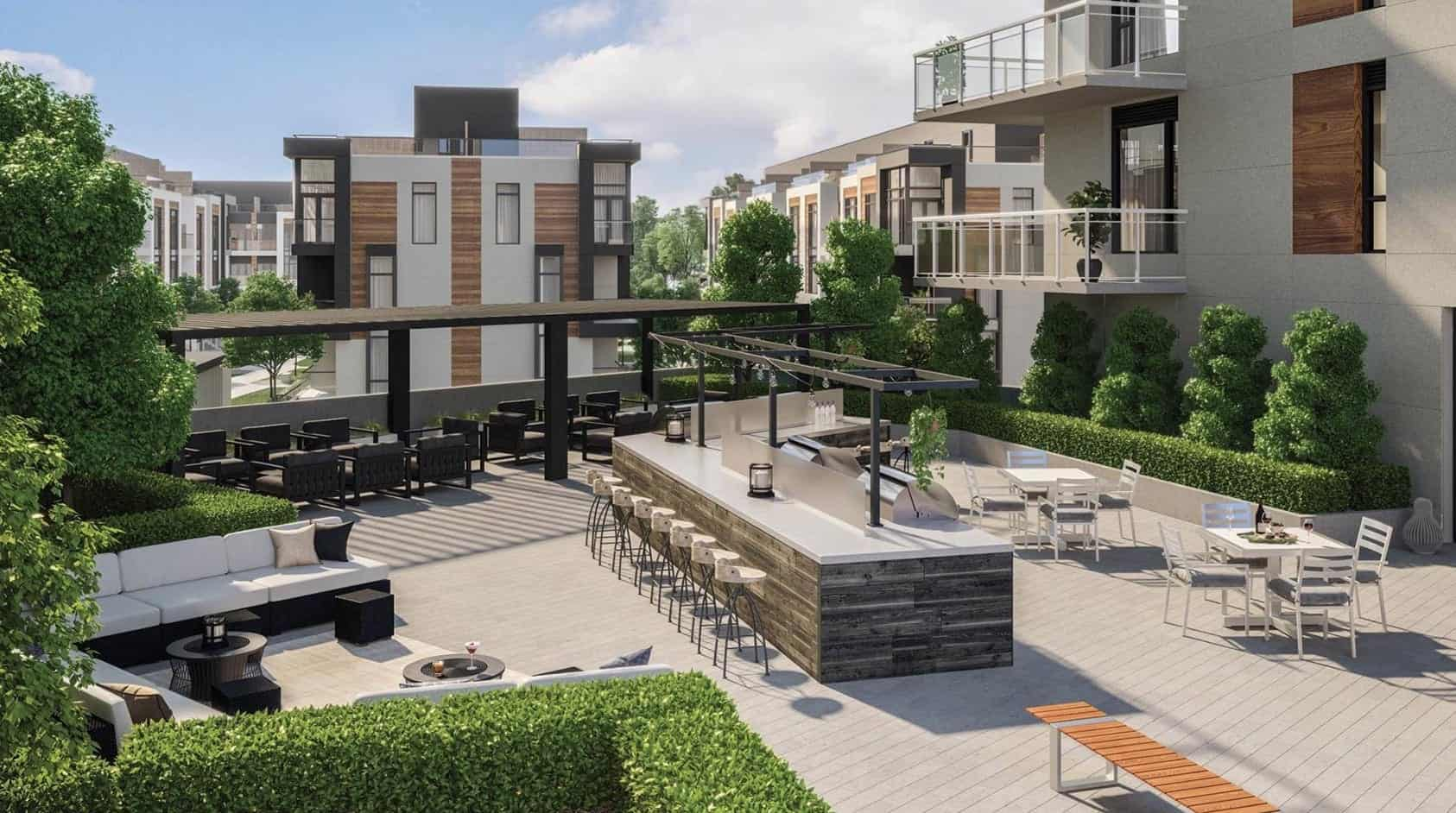 Elgin East Condos Phase 2 Outdoor Terrace True Condos