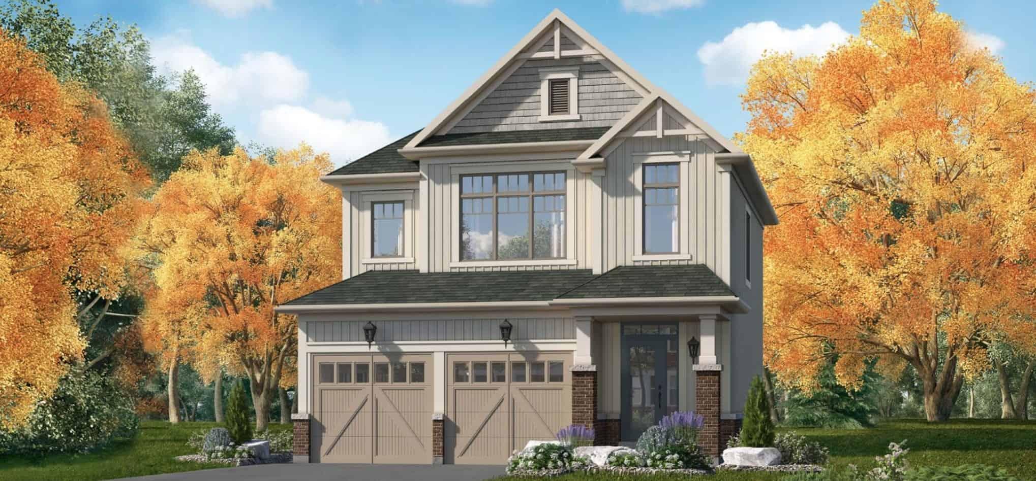 Indigo Estates Collingwood House Rendering True Condos