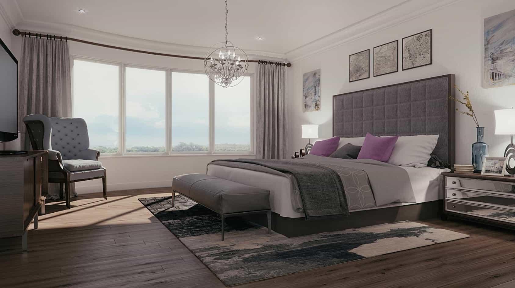 Indigo Estates Collingwood Interior Bedroom True Condos