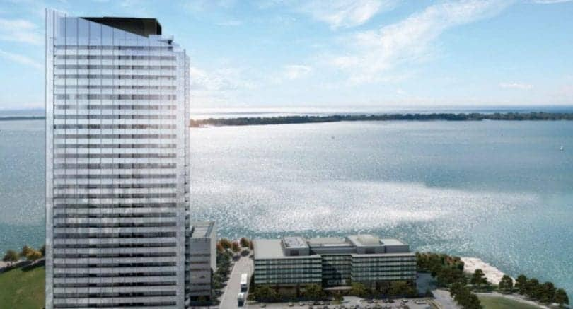 Lake Suites Condos Building Lake Ontario View True Condos