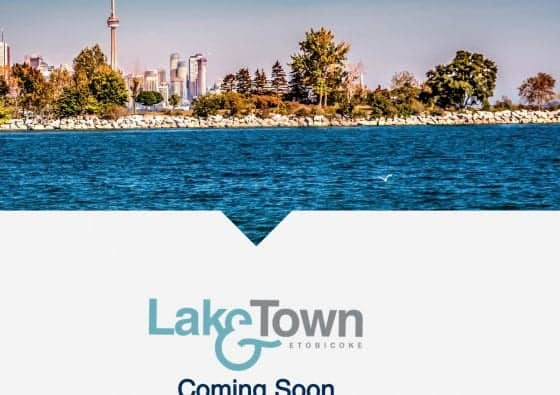 Lake and Town Etobicoke Banner True Condos