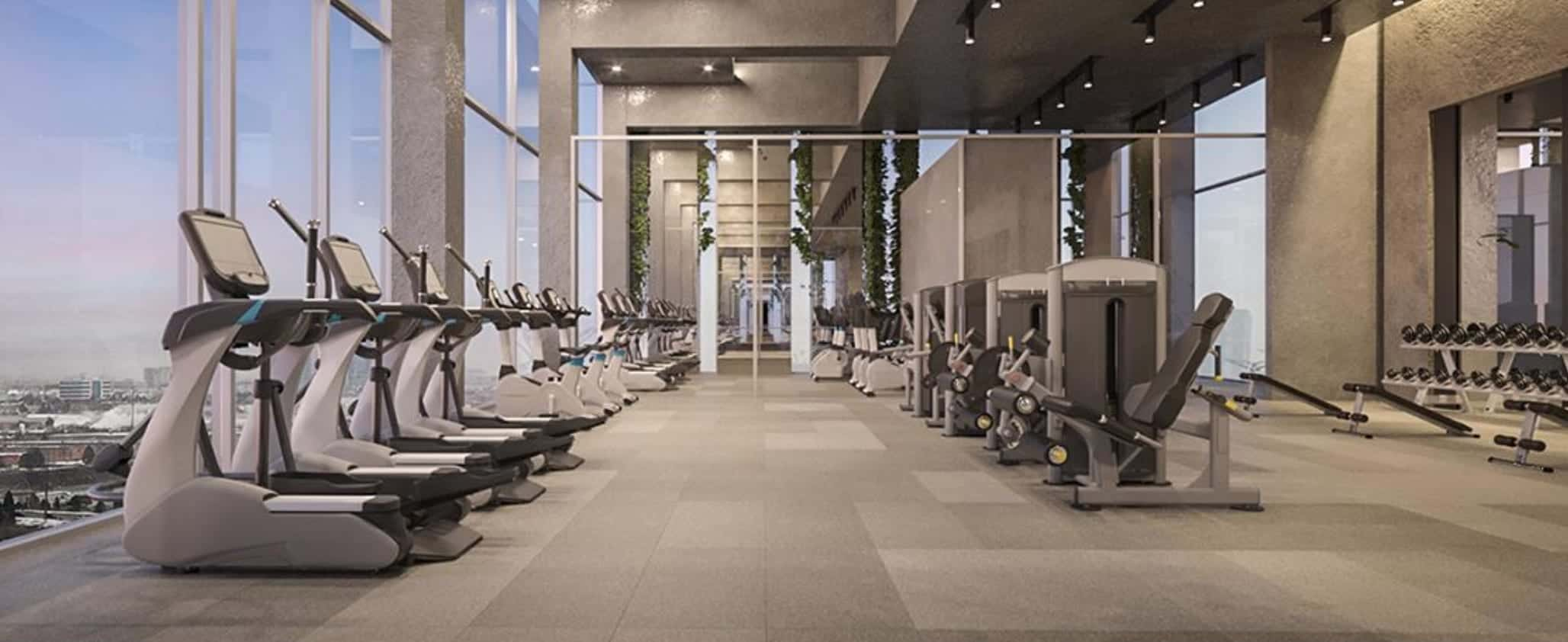 SXSW Condos Gym Fitness True Condos