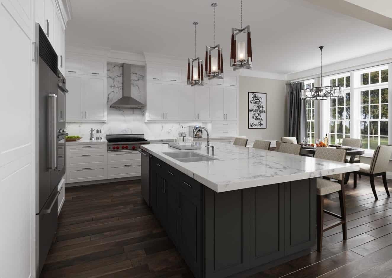The Chase Homes Interior Kitchen True Condos