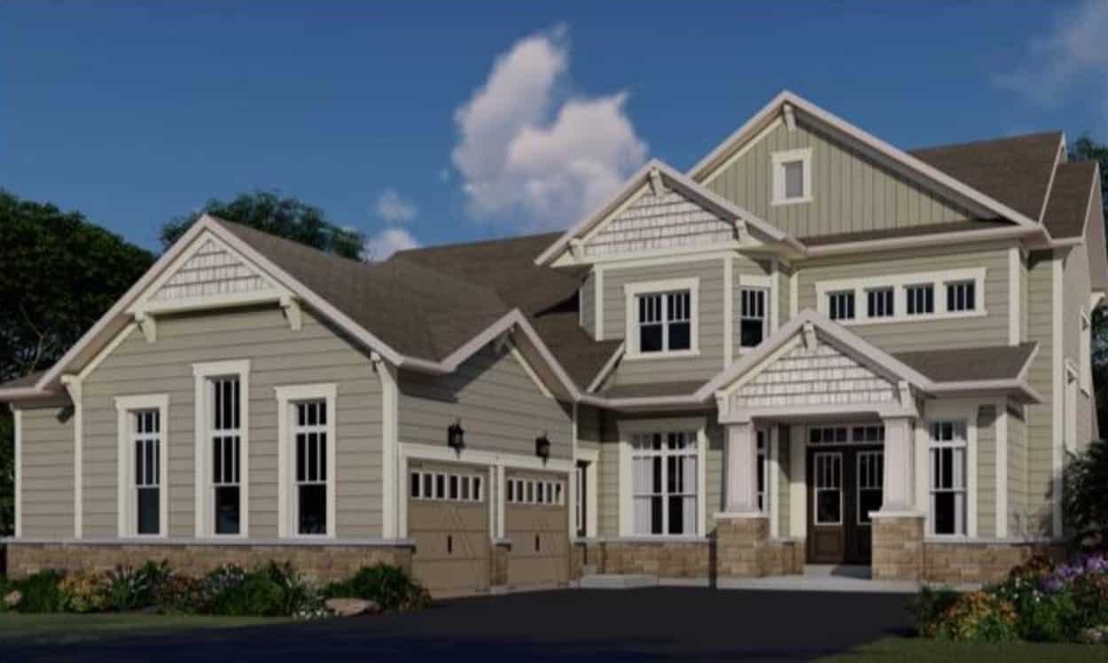 The Chase Homes Rendering True Condos
