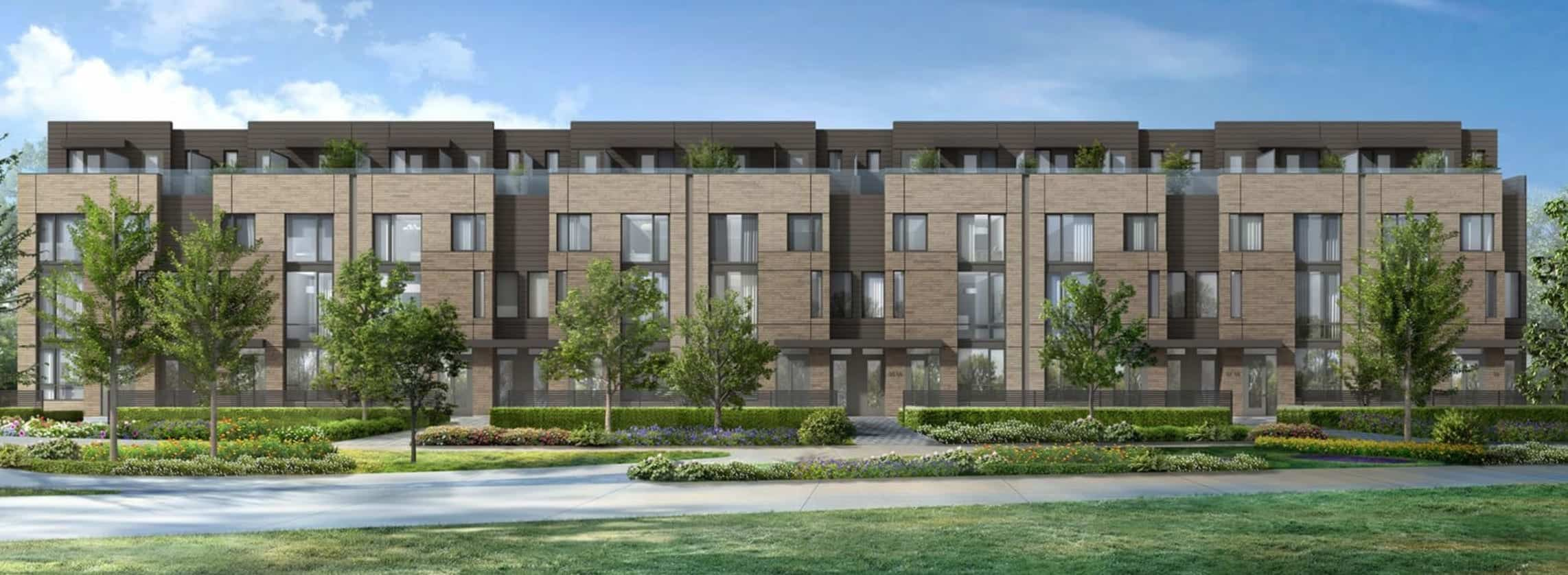 The New Lawrence Heights Townhomes True Condos