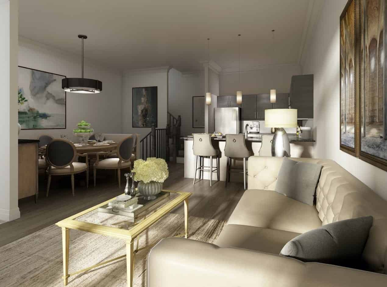 The Village Southfields Caledon Towns Interior Living True Condos