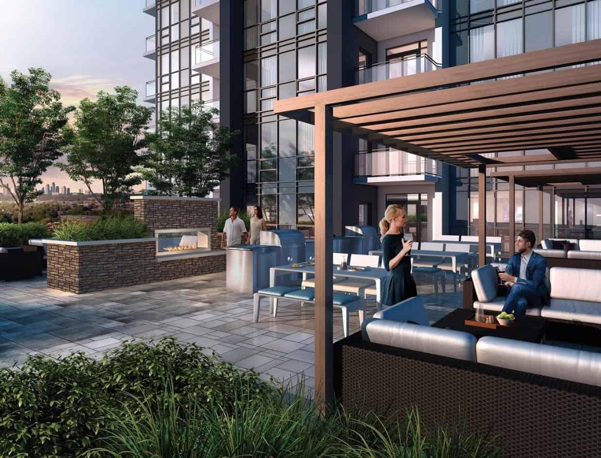 Tricycle Condos Outdoor Terrace Lounge True Condos