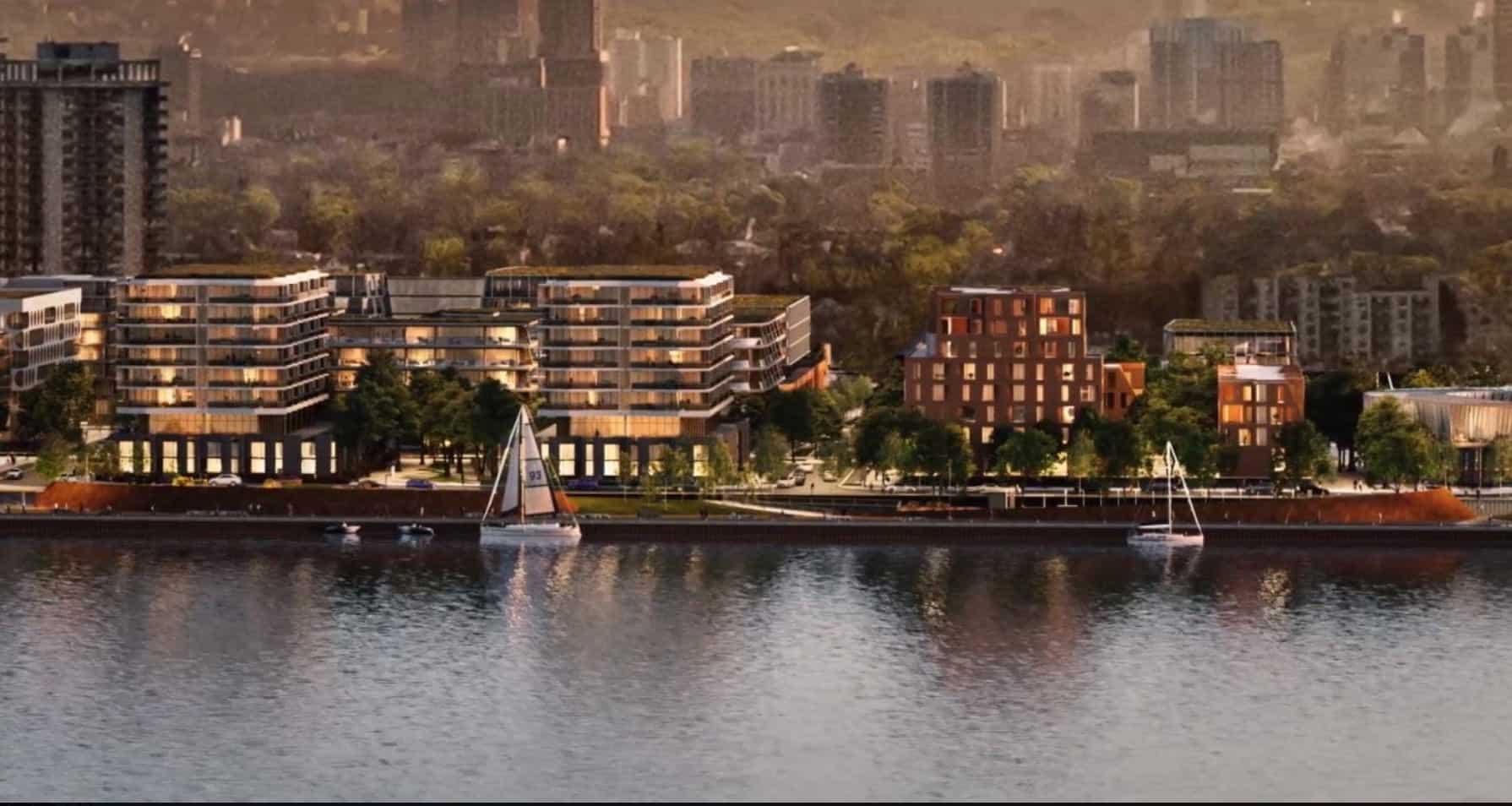 Waterfront Shores Condos Hamilton Waterfront Boats True Condos