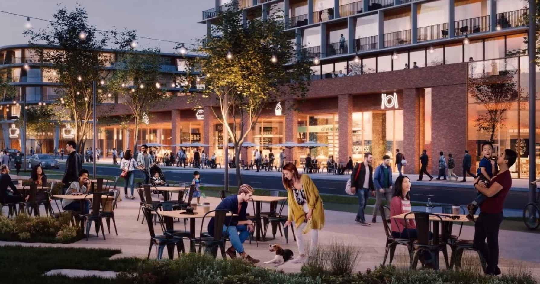 Waterfront Shores Condos Pedestrian Terrace Trails True Condos