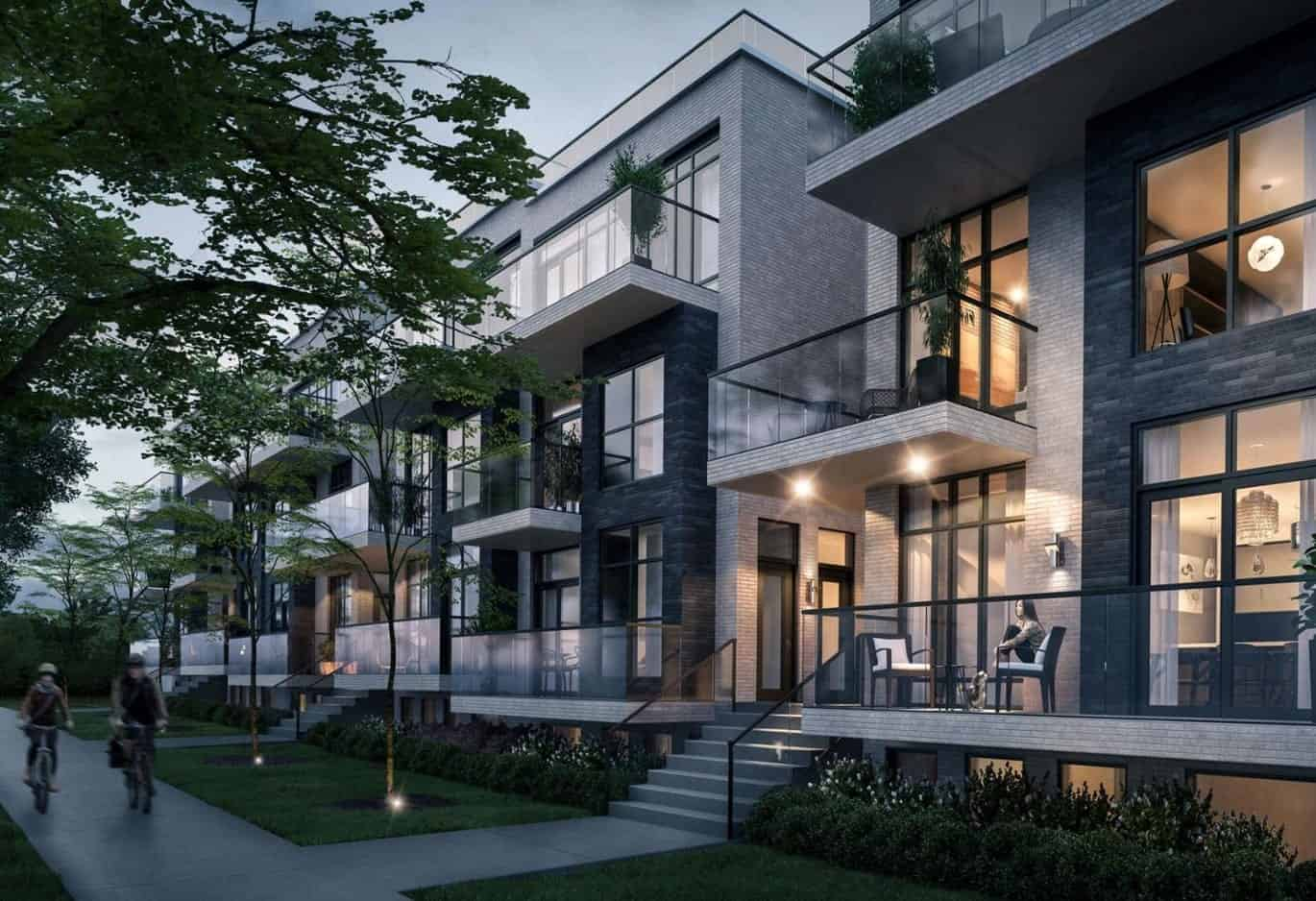 Winlock Towns Phase 2 Exterior Townhomes True Condos
