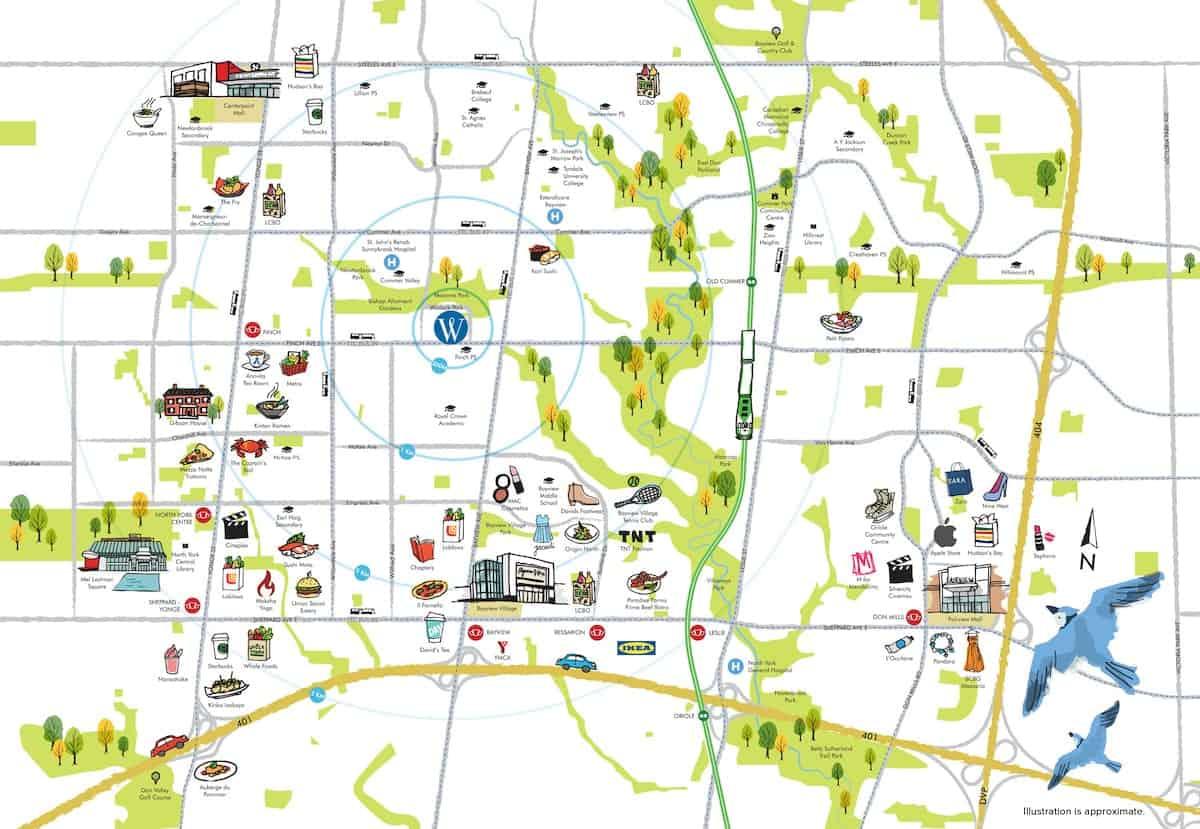 Winlock Towns Phase 2 Map True Condos