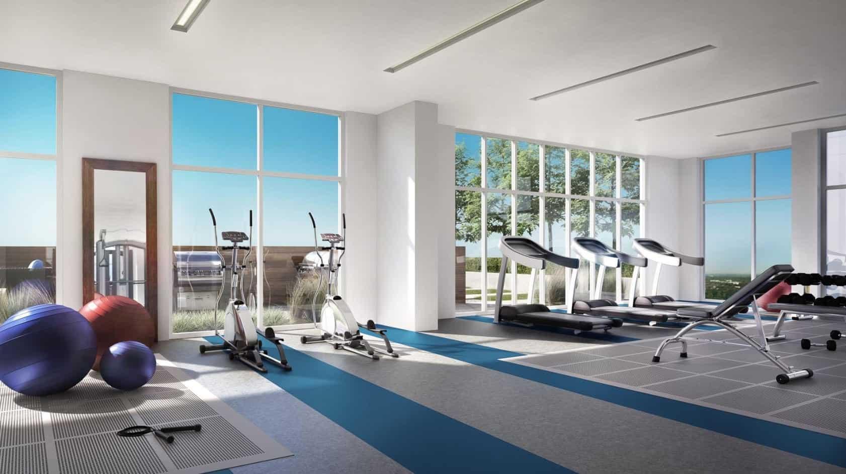 Azure Condos Gym Amenities True Condos