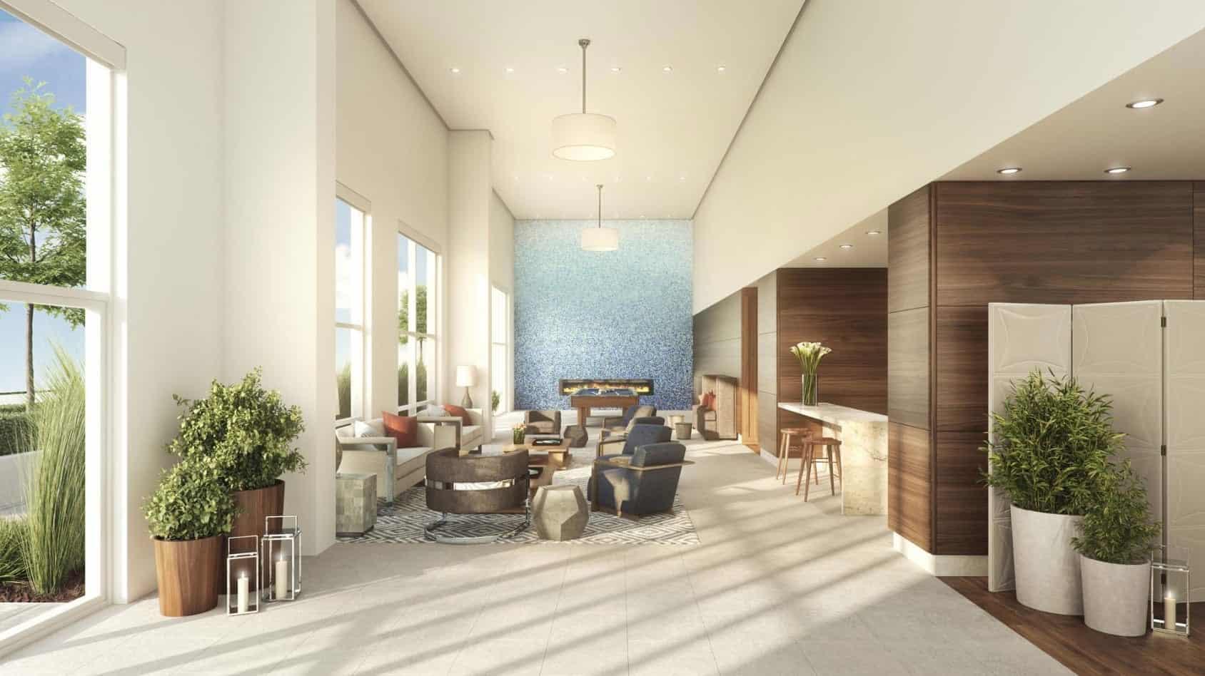 Azure Condos Lounge True Condos