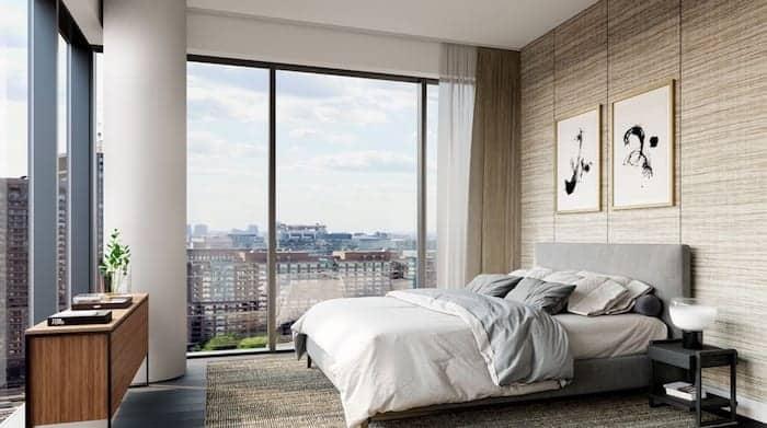 The Saint Condos Bedroom