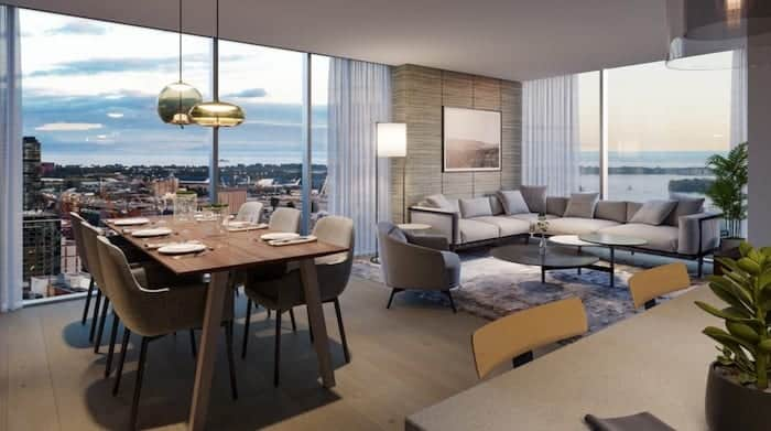 The Saint Condos Living Space