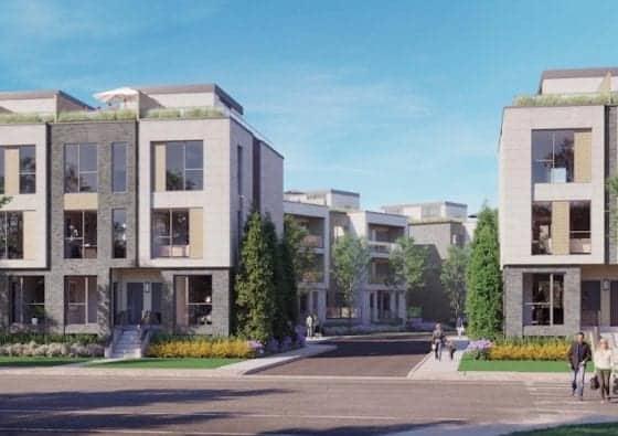 Clonmore Urban Towns Exterior Building True Condos