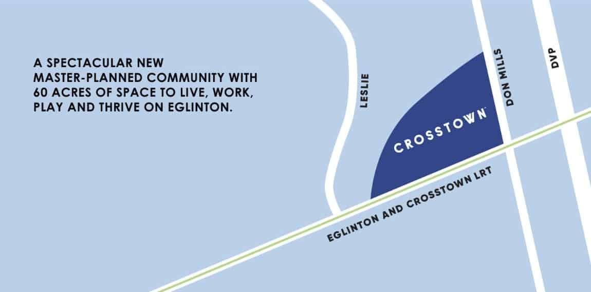 Crosstown Condos Eglinton and Don Mills True Condos