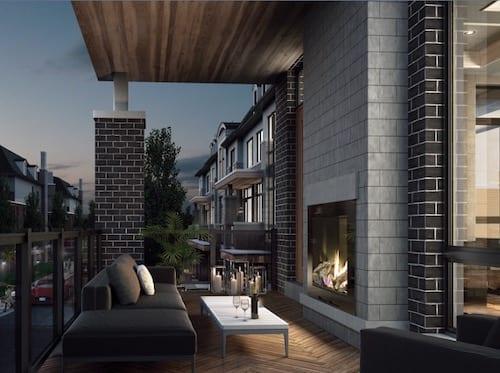 Fifth Avenue Homes Towns Balcony True Condos