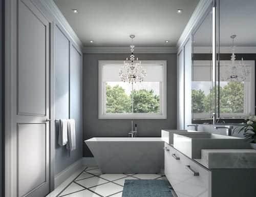 Fifth Avenue Homes Towns Interior Bathroom True Condos