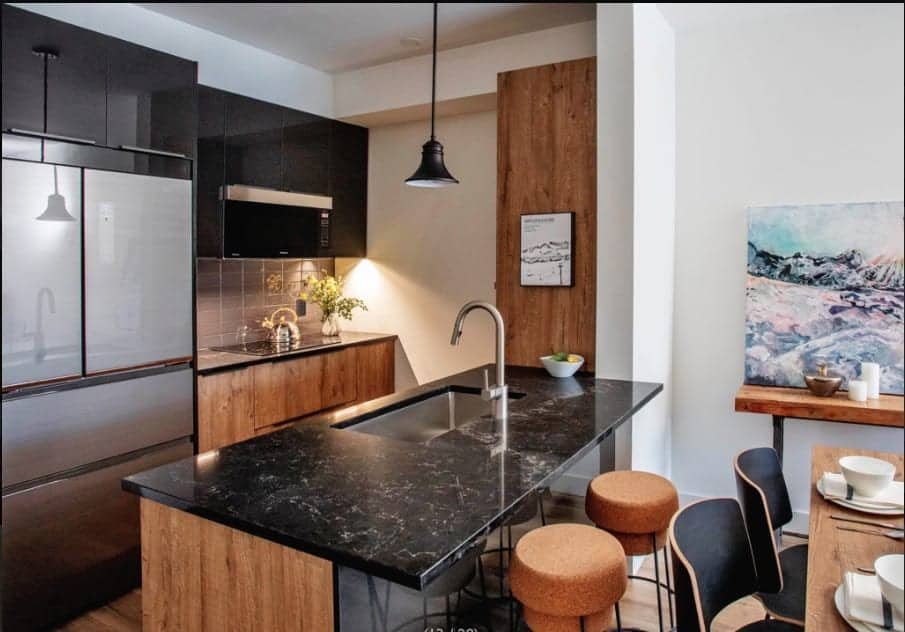 Mountain House at Windfall Kitchen Finishes True Condos