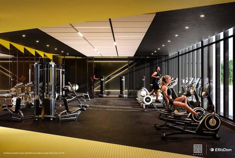 Thirty Six Zorra Condos Gym True Condos