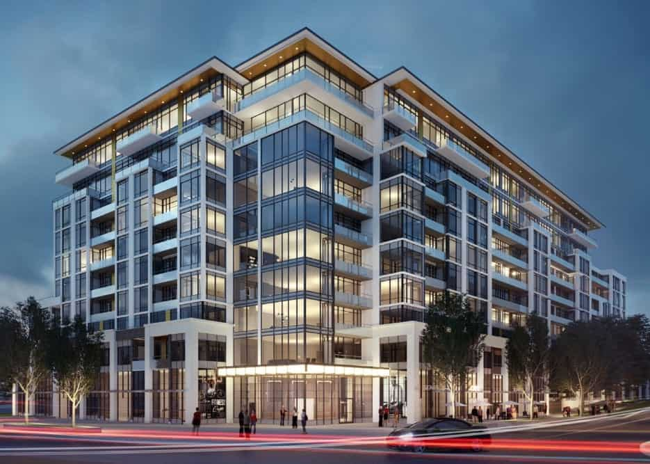 Distrikt Trailside Exterior Building True Condos