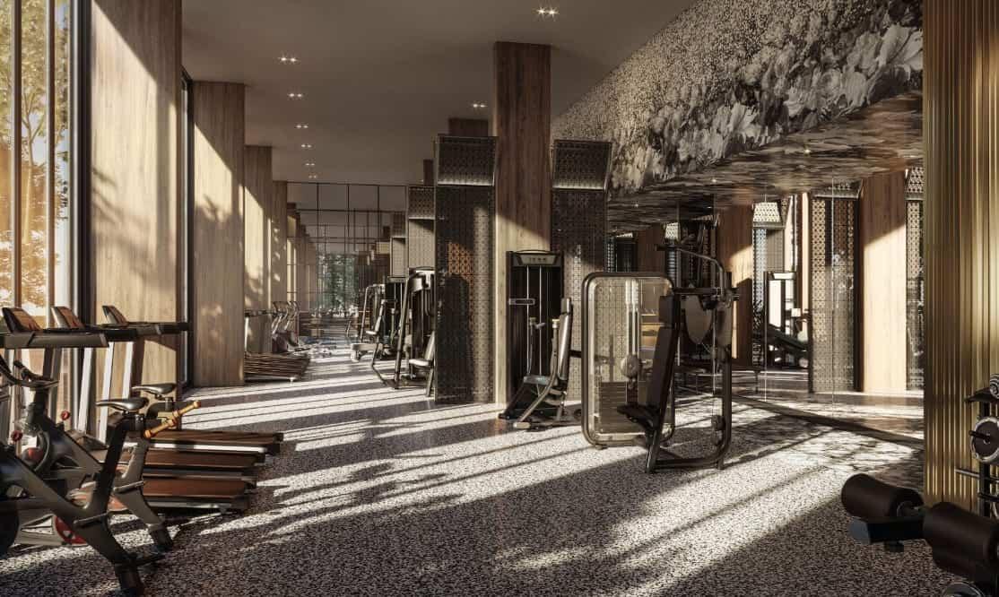 Distrikt Trailside Gym True Condos