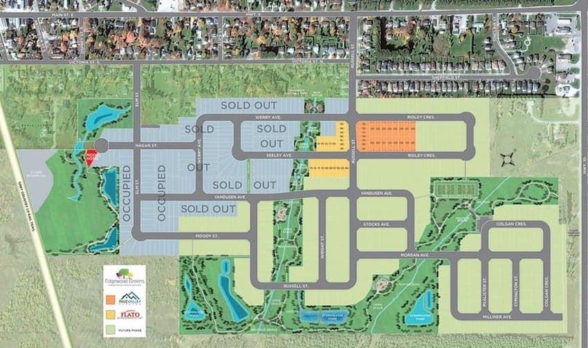 Edgewood Greens Homes Site True Condos