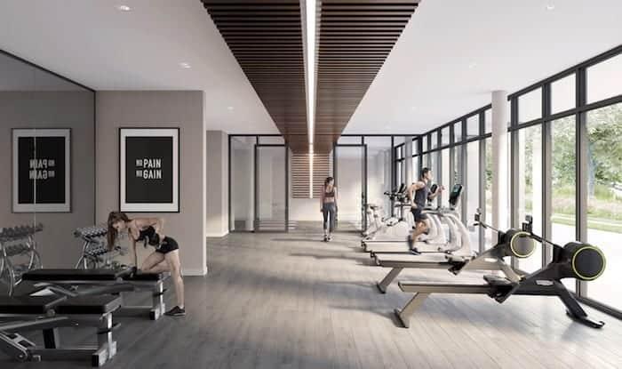 The King's Mill Condos Gym True Condos