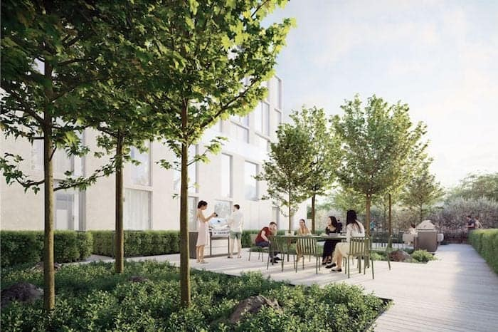 Nordic Condos Courtyard True Condos