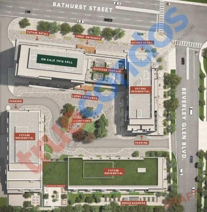 The Thornhill Condos Site Plan