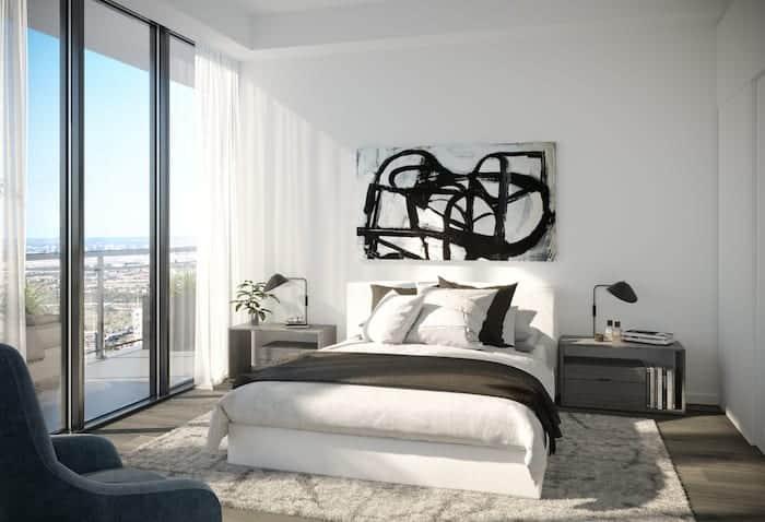 EX2 Condos Bedroom