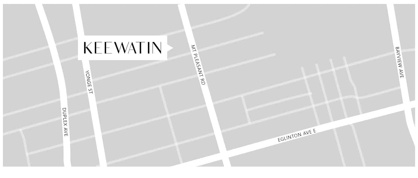 Keewatin Townhomes Freed Map True Condos