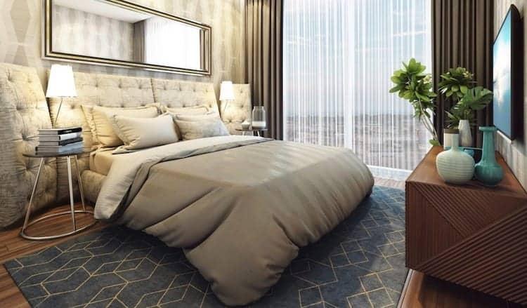 LJM Tower Condos Bedroom