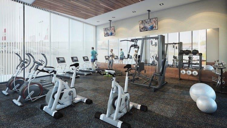 LJM Tower Condos Gym