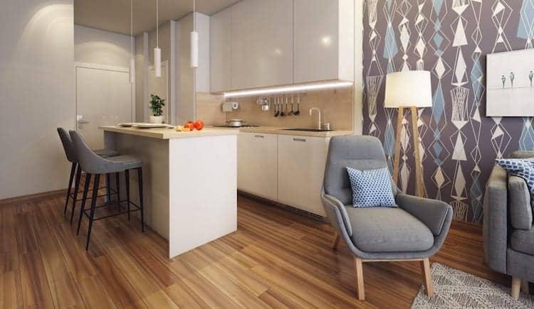 LJM Tower Condos Kitchen